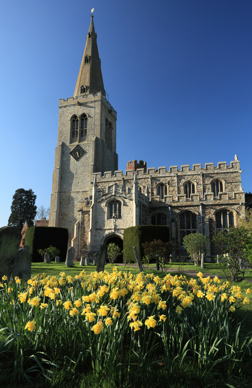 A St Marys in Spring